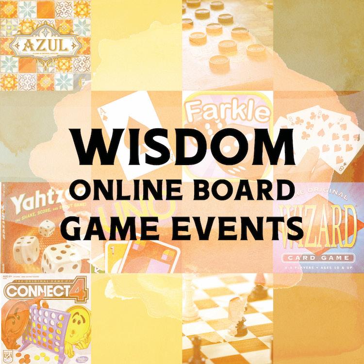 WISDOMOnlineBoardGamesEvent